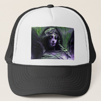 Angel study 7b trucker hat
