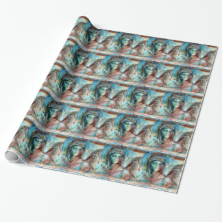 angel study f6 wrapping paper