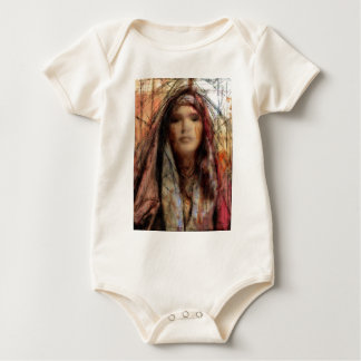 Angel study f8 baby bodysuit