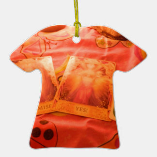 Angel Tarot Cards Ceramic T-Shirt Decoration