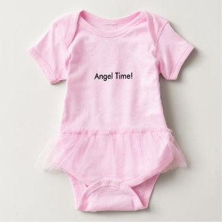 Angel Time TuTu! Baby Bodysuit
