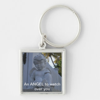 Angel to watch over you Keychain