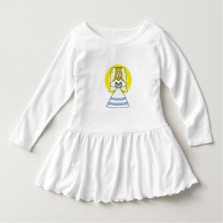 Angel Toddler Ruffle Dress
