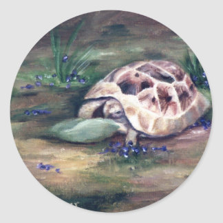 Angel Tortoise Sticker
