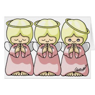Angel Trio Card