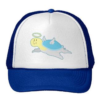 Angel Turtle - Blue Shell Trucker Hats