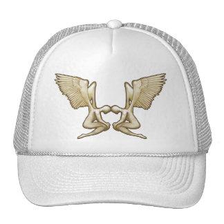 Angel-Twins Mesh Hats