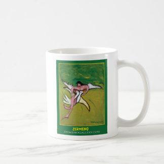 """Angel"" (Two) by Zermeno Basic White Mug"