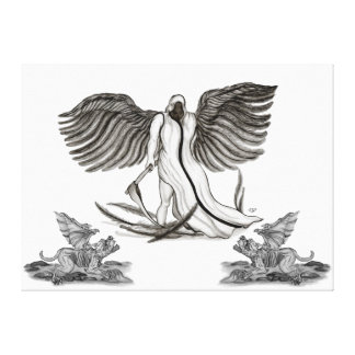 Angel Uriel Gallery Wrap Canvas