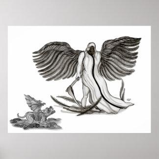 Angel Uriel Print