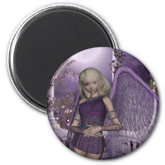 Angel Violet Charms Magnet