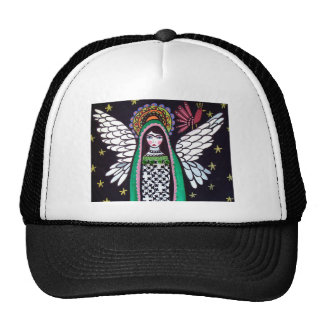 Angel Virgin of Guadalupe Art by Heather Galler Cap