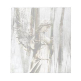 Angel Walks Through Winter Notepad