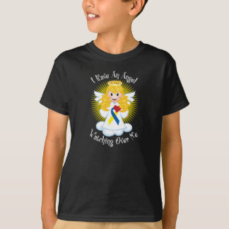 Angel Watching Over Me Down Syndrome T-Shirt