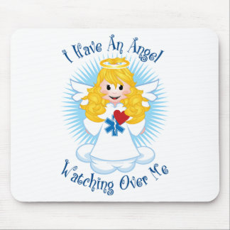 Angel Watching Over Me EMT Mousepads