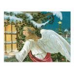 Angel Watching Postcard
