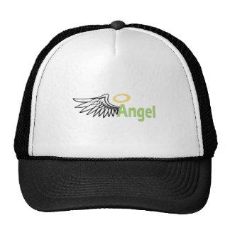 ANGEL WING HALO TRUCKER HATS