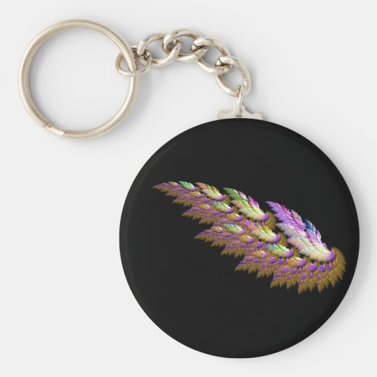 angel wing keychain