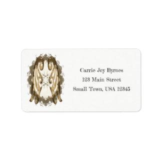 Angel Wings Address Label