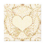 Angel Wings and Heart Gallery Wrap Canvas