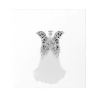 Angel Wings and Light Notepad