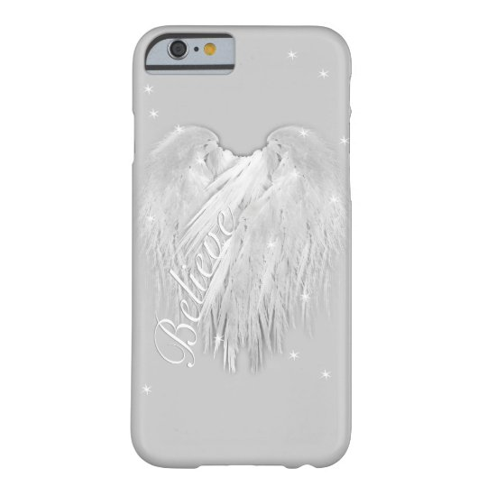 ANGEL WINGS 'Believe' Magic Heart Barely There iPhone