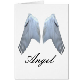 Angel Wings Card