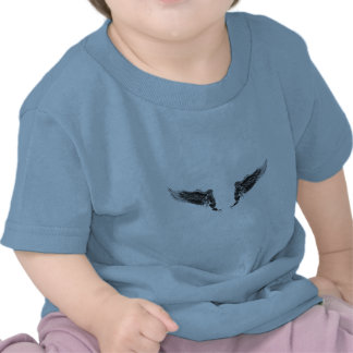 Angel wings concept tattoo t shirt