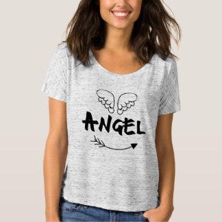 Angel Wings Cute Bella Boyfriends Tshirt
