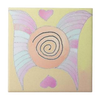 Angel Wings Feature Ceramic Tile