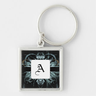 Angel Wings Fractal Keychains