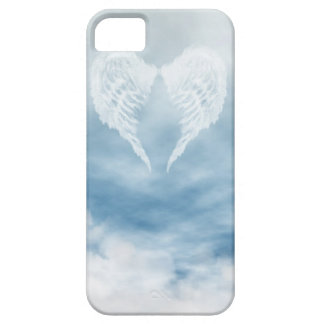Angel Wings in Cloudy Blue Sky Barely There iPhone 5 Case