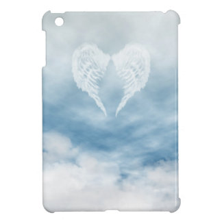 Angel Wings in Cloudy Blue Sky iPad Mini Cover