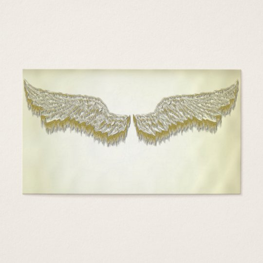 Angel wings Life Coach Spiritual business cards