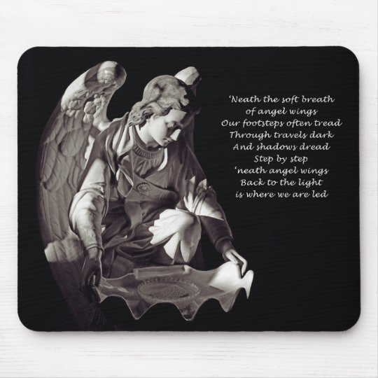 Angel Wings Mousepad