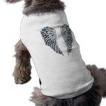 Angel Wings Sleeveless Dog Shirt