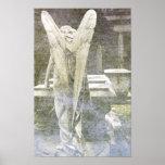 Angel Wings - vintage Poster