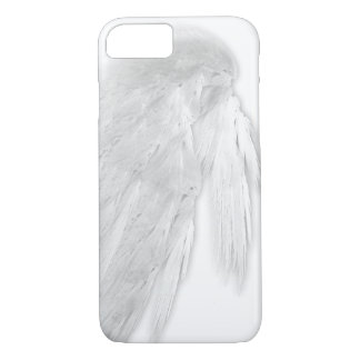ANGEL WINGS White Left Customizable iPhone 7 Case