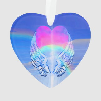 Angel Wings Wrapped Around a Heart