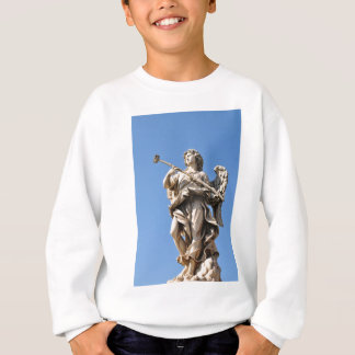 Angel with a selfie stick! sweatshirt