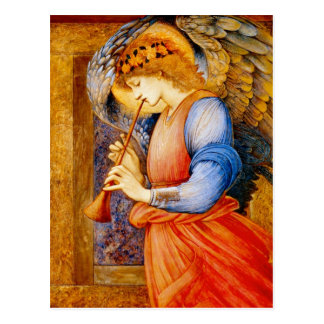 Angel With a Trumpet Postcard