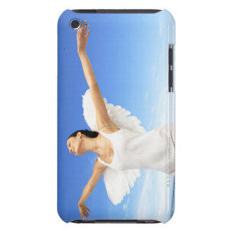 Angel with arms outstretched and eyes closed iPod touch case