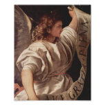 Angel with Banner 1522 Poster