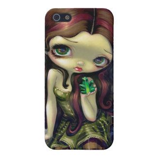 """""""Angel with Emeralds"""" iPhone 4 Case"""