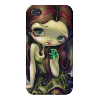 """Angel with Emeralds"" iPhone 4 Case"