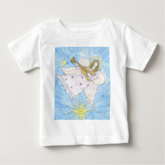 angel with guitar baby t-shirt
