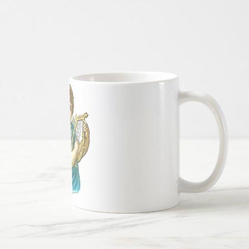 Angel With Harp Mug