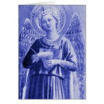 Angel with Instrument Greeting Card
