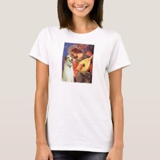 Angel with Mandolin - Borzoi T-Shirt
