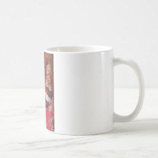 ANGEL WITH ROSES COFFEE MUGS